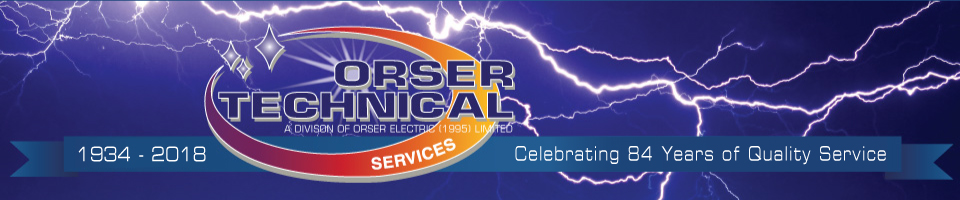 Orser Technical - Celebrating 84 Years of Quality Service